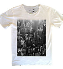New Mens NYC Cotton Breathable T-Shirt