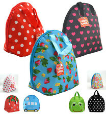 Kids Lunch Box Carry Tote Bag Thermal Insulated Cooler Bag Water Bottle Bags