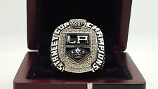 2012 Los Angeles La Kings Hockey Stanley Cup Championship ring 8-14S solid back