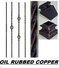 Iron Balusters Iron Spindles Metal Stair Parts Hollow Oil Rubbed Copper