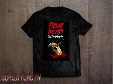 FRIDAY THE 13th Part IV 4 The Final Chapter  Horror Movie T Shirt