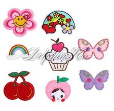 Cute Baby Girl Infant Toddler Sew On Iron Embroidered Applique DIY Craft Patch