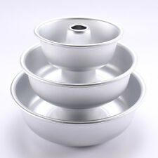 "ROUND Cake Tin 5"" 7"" 8.5""  Bundt Cake Baking Tin Savarin Kugelhopf Pan Pudding"