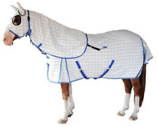 CARIBU Cotton Ripstop Paddock Horse Rug & Hood Set, Built Tough. Size 4'6 to 7'0