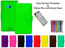 Magnetic Leather PU Flip Wallet Case Cover Card/Cash Holder For Nokia Lumia 650