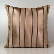 Beige Pillow, Striped Pillow, Throw Pillow Cover, Decorative Pillow Cover
