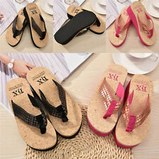 Nice Sequins Women Fashion Sandals Beach EVA Flip Flops Slippers Shoes 0059