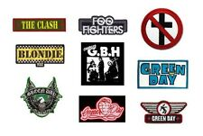 THE CLASH foo fighters BAD RELIGION blondie G.B.H. green day - OFFICIAL  PATCH
