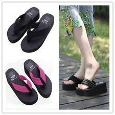 Nice New Women Sandals Swinging Thick Bottom Beach Flip Flops Slippers Shoes 11