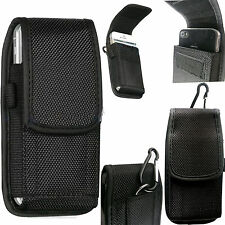 Universal Nylon Belt Loop Hip Case Cover Holster Pouch for Apple iPhone
