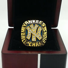 Solid 1977 New York Yankees World Series Championship Ring 8-14Size Fans Gift