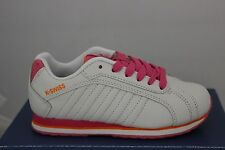 Children's K Swiss Verstad III Sneakers White/Pink/Orange 53271832 Brand New!!!