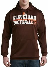 Cleveland Browns NFL Majestic Mens 1 Handed Catch Hoodie Big & Tall Sizes