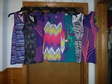 Sleeveless Stretch Sport T-Shirts Tek Gear XL,MD,SM Multi Color NWT