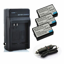 Canon LP-E10 Li-ion Battery/ Charger Pack for Canon EOS 1100D 1200D KISS X50 X70