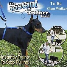 Dog Control Harness Lead Collar Pet Walking Training Anti Pull Dog Leash Leader