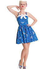 Bright Bunny Rockabilly Dress Size. XS-XL/34 42 sexy mini of Pistols Skulls