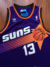 NBA Phoenix Suns Steve Nash Throwback Swingman Sewn/Stiched Jersey NWT