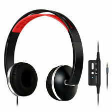 Foldable Noise Cancelling Over Ear Stereo Headphones Headset Earphones with Mic