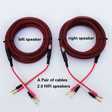 H82- Choseal 4N-OFC Speaker Cable (2.5mm²x4) 13awg OD11.5mm 5ft-14ft