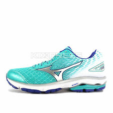Mizuno Wave Rider 19 (W) [J1GD160304] Running Green/Silver