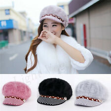 New Womens Ladies Winter Warm Knitted Crochet Slouch Baggy Beanie Hat Cap 147
