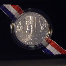 2010W AMERICAN VETERANS DISABLED FOR LIFE UNCIRCULATED SILVER $ IN US MINT DRESS