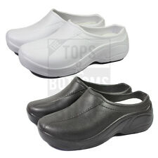 NEW Medical Women's Nursing Ultralite Slip Resistant Strapless Clogs Light Shoes