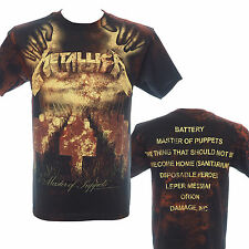 METALLICA - MASTER OF PUPPETS DEATH AO - Official T-Shirt - Metal - New 2XL Only