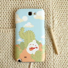 Cute Molang Phone Hard Back Skin Case Cover for Smart Phone - Cactus