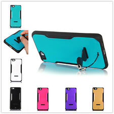 Slim 2 in 1 TPU+PC Stand case back cover phone Skin For Huawei Ascend P8 Lite