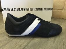 Dirk Bikkembergs Mens Shoes Sneakers Trainers Navy Suede & Leather BKE107834