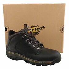 Mens Gents Dr Martens New Black Leather Lace Up Outdoor / Saftey Work Boots 12