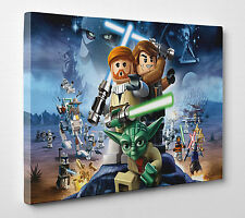 Lego Star Wars Photo Canvas Print Wall Art Ready to Hang A1 A2 A3 A4 003 New