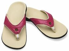 Spenco Yumi Rose Snake Women's Total Support Thong Sandals