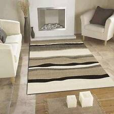 Icon 703 Beige SIX SIZES Modern Designer Thick Heavy Floor Rug FREE DELIVERY