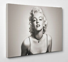 Marilyn Monroe Photo Canvas Print Wall Art Ready to Hang A1 Large New