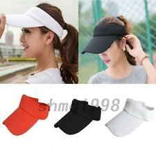 Sun Visor Hat Cap Sport Tennis Baseball Golf Beach Adjustable Women Men Outdoor