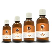 100% NATURAL CLOVE ESSENTIAL OIL(Aromatherapy)choose from 15ml to 250ml