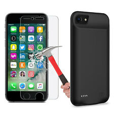 MFi 3200 mAh External Battery Case for iPhone 6 6s Plus + 3x HD Screen Protector