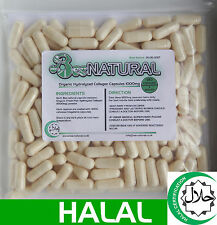 Halal Marine Life Pure Hydrolyzed Collagen 1000MG - 180 Capsules(1 Month Supply)