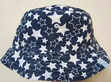 New QUALITY Boys Toddler Child Kids Cotton Bucket Sun Hat Cap Wide Brim Sizes
