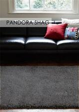 Pan Anthracite FIVE SIZES New Modern Thick X Heavy Shaggy Floor Rug FREE DELIVER