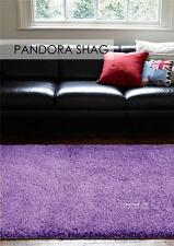 Pan Purple FIVE SIZES New Modern Thick X Heavy Shaggy Floor Rug FREE DELIVER