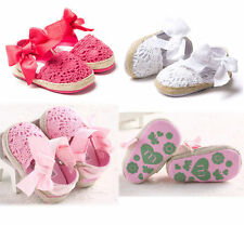 1Pair Baby Infant Kids Girl Soft Sole Toddler Newborn Shoes 0-18 Month Anti-Slip