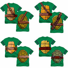 Kids Boys Toddler TMNT Teenage Mutant Ninja Turtles Cosplay T-shirt Top Costume