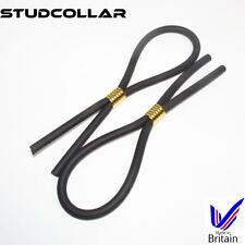 STUDCOLLAR-FLEX-GOLD - TWIN PACK - Strong & Stretchy Rubber Hoop/Penis Ring