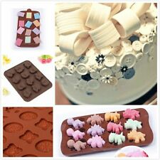 Pretty Chocolate Cake Cookie Muffin Candy Jelly Baking Silicone Bakeware Mold
