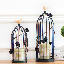 NEW Wedding Centerpiece Ornaments Home Decor Vintage Bird Cage Style Candlestick
