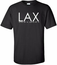 LAX Los Angeles International Airport Code T-Shirt
